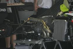Honda Racing F1 Team RA106 2007 engine