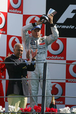 Podium: Kimi Raikkonen