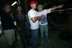 Bill Auberlen, Joey Hand and Justin Marks