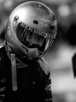 Aston Martin Racing team member