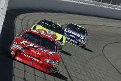 Dale Earnhardt Jr. leads Kyle Busch and Jimmie Johnson