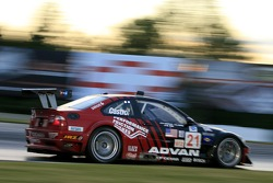 #21 Team PTG BMW E46 M3: Bill Auberlen, Joey Hand, Boris Said