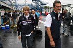 Dr. Mario Theissen and Sebastian Vettel
