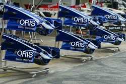 Williams F1 Team FW28 Cosworth front wings