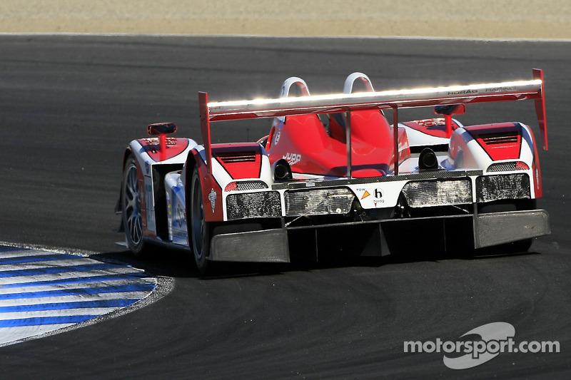 #27 Horag Racing Lola R05/40 Judd: Fredy Lienhard, Didier Theys