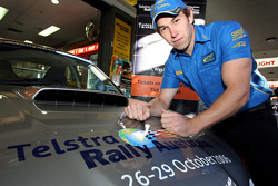 Chris Atkinson at the Rally Australia ticket launch