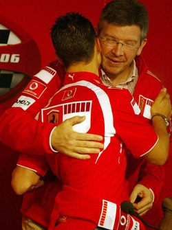 Press conference: Michael Schumacher and Ross Brawn