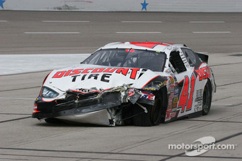 Reed Sorenson suffers major damage