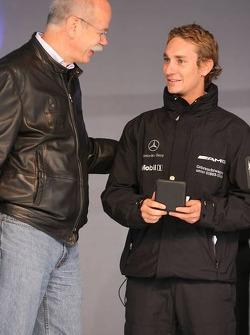 Dr. Dieter Zetsche and Mathias Lauda