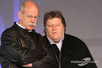 Dr. Dieter Zetsche and Norbert Haug