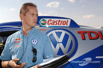 Volkswagen Motorsport technical director Eduard Weidl
