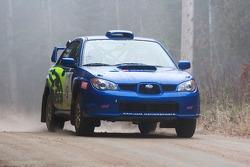 #9 2007 Subaru WRX STi: Martin Donnelly, Robin Fleguel