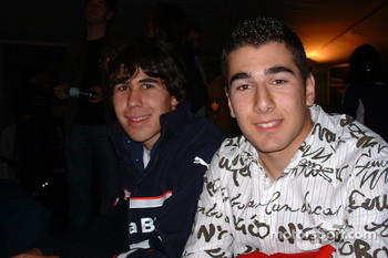 Robert Wickens and Daniel Morad
