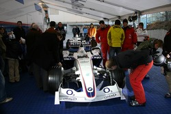 BMW Sauber F1.06 on display