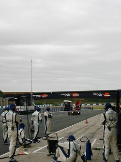 Pitstop practice at Williams F1 Team