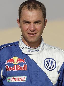Volkswagen Motorsport presentation in Dubai: Giniel de Villiers