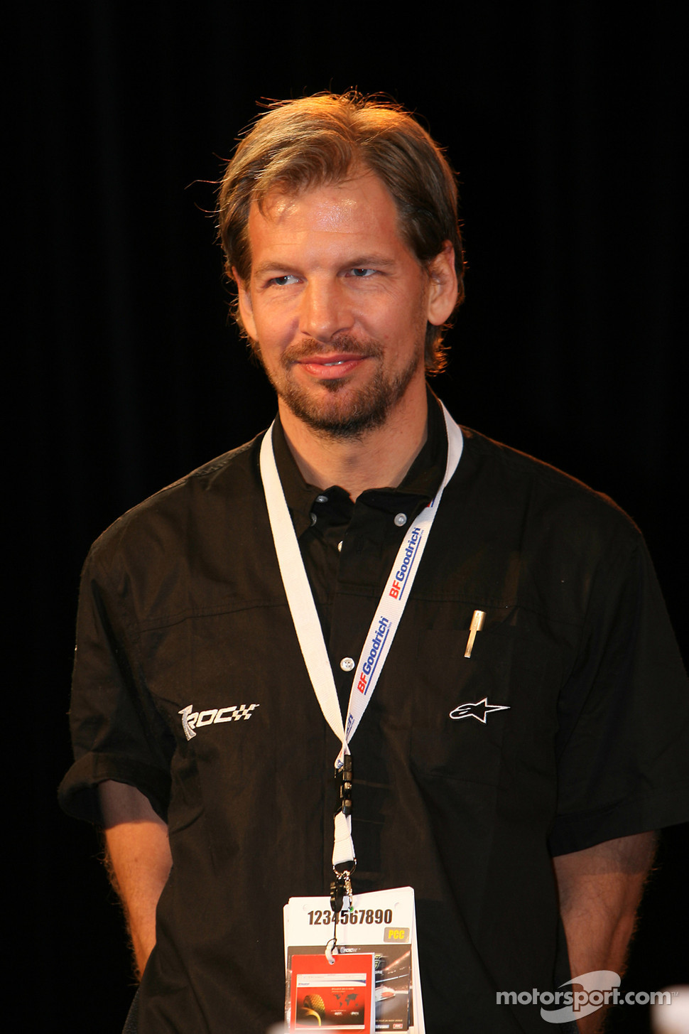 ROC organiser Fredrik Johnsson