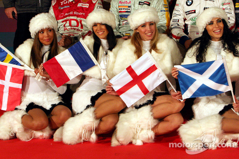The lovely 2006 race of Champions girls