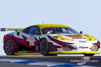 A composite of the Petersen Motorsports/White Lightning Racing Ferrari F430 GT that will campaign the  in the American Le Mans Series beginning in 2007