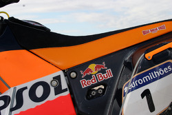Team Rally Repsol KTM: detail of the 690 Rally Repsol KTM