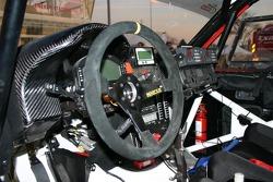 Cockpit of the Orlen Team Nissan