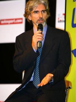 Damon Hill Ex-F1 World Champion, President of the BRDC