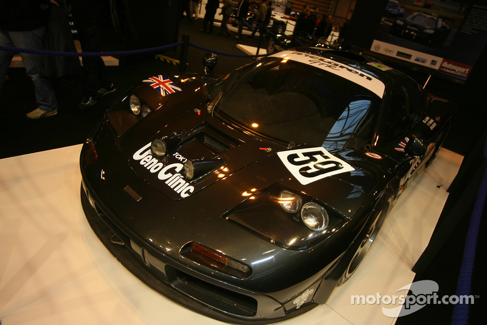 75 Years of Le Mans display: McLaren F1 GTR