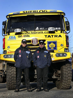 Loprais Tatra Team: Ales Loprais and Petr Gilar