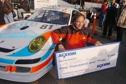 GT pole winner Patrick Huisman