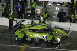 Pitstop for #75 Krohn Racing Pontiac Riley: Colin Braun, Max Papis, JJ Lehto