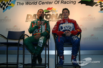 Press conference: Tony Kanaan and Marco Andretti