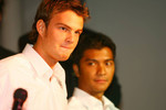 Giedo van der Garde and Fairuz Fauzy