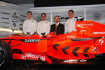 James Key, Christijan Albers, Marc Gene and Adrian Sutil