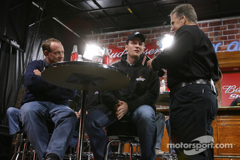 Ken Schrader and Dale Earnhardt Jr.