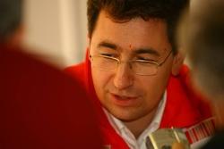 Mattia Binotto, Scuderia Ferrari, Chief Track Engineer
