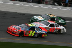 Jeff Gordon, David Stremme and Sterling Marlin