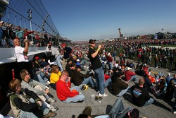 Fans enjoy the track at Daytona