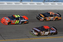 Jeff Gordon, Ricky Rudd, and Johnny Sauter