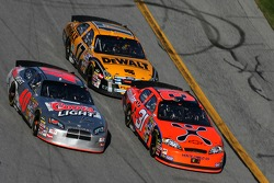 David Stremme, Jeff Burton and Matt Kenseth