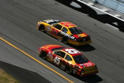 Dave Blaney and Kyle Petty