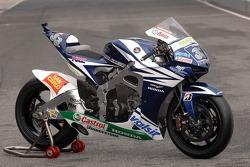 Team Gresini: the Gresini Honda RC212V of Marco Melandri