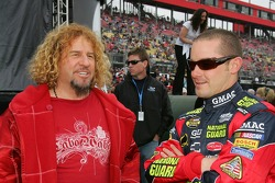 Sammy Hagar and Casey Mears