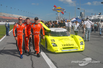 Michael Valiante, Michael McDowell and Rob Finlay