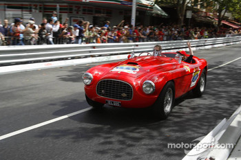 Historic Ferrari on Lygon Street