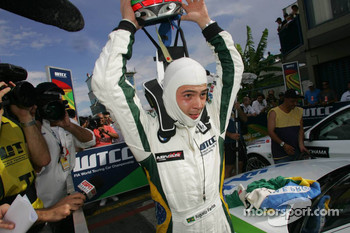 Winner, Augusto Farfus, BMW Team Germany, BMW 320si WTCC