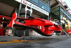 Scuderia Ferrari, F2007, Front wimg