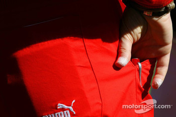 Plasters on Jean Todt, Scuderia Ferrari, Ferrari CEO figners