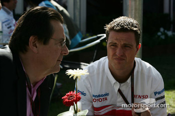 Hans Mahr, manager of Ralf Schumacher