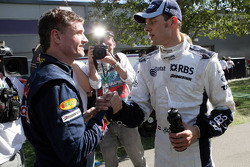 David Coulthard, Red Bull Racing says SORRY to Alexander Wurz, Williams F1 Team after the race