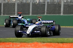 Nico Rosberg, WilliamsF1 Team, FW29 and Jenson Button, Honda Racing F1 Team, RA107